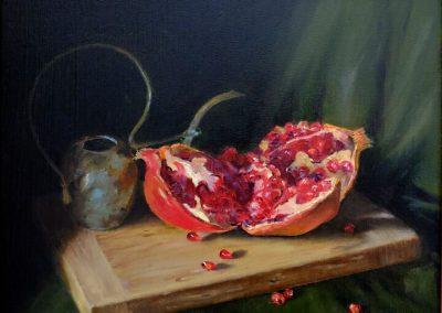 Ingrid Boulting_Pomegranates