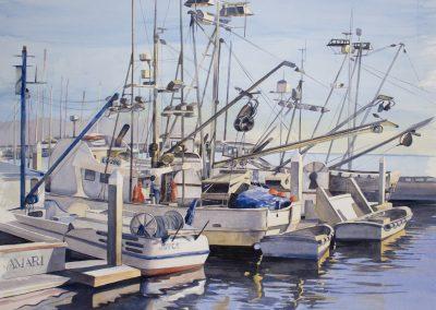 KOCHEL-BoatsInHarbor
