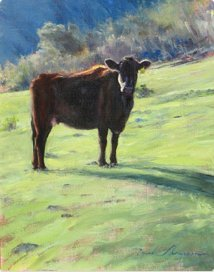 Mark Thompson _Cow in Pasture