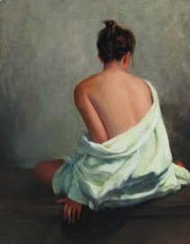 Mark Thompson _Lady in Green Robe