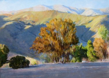 Mark Thompson _Lake Afternoon Shadows
