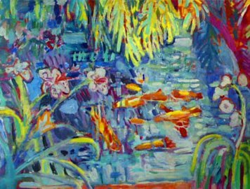 Nancy Whitman _Koi Pond