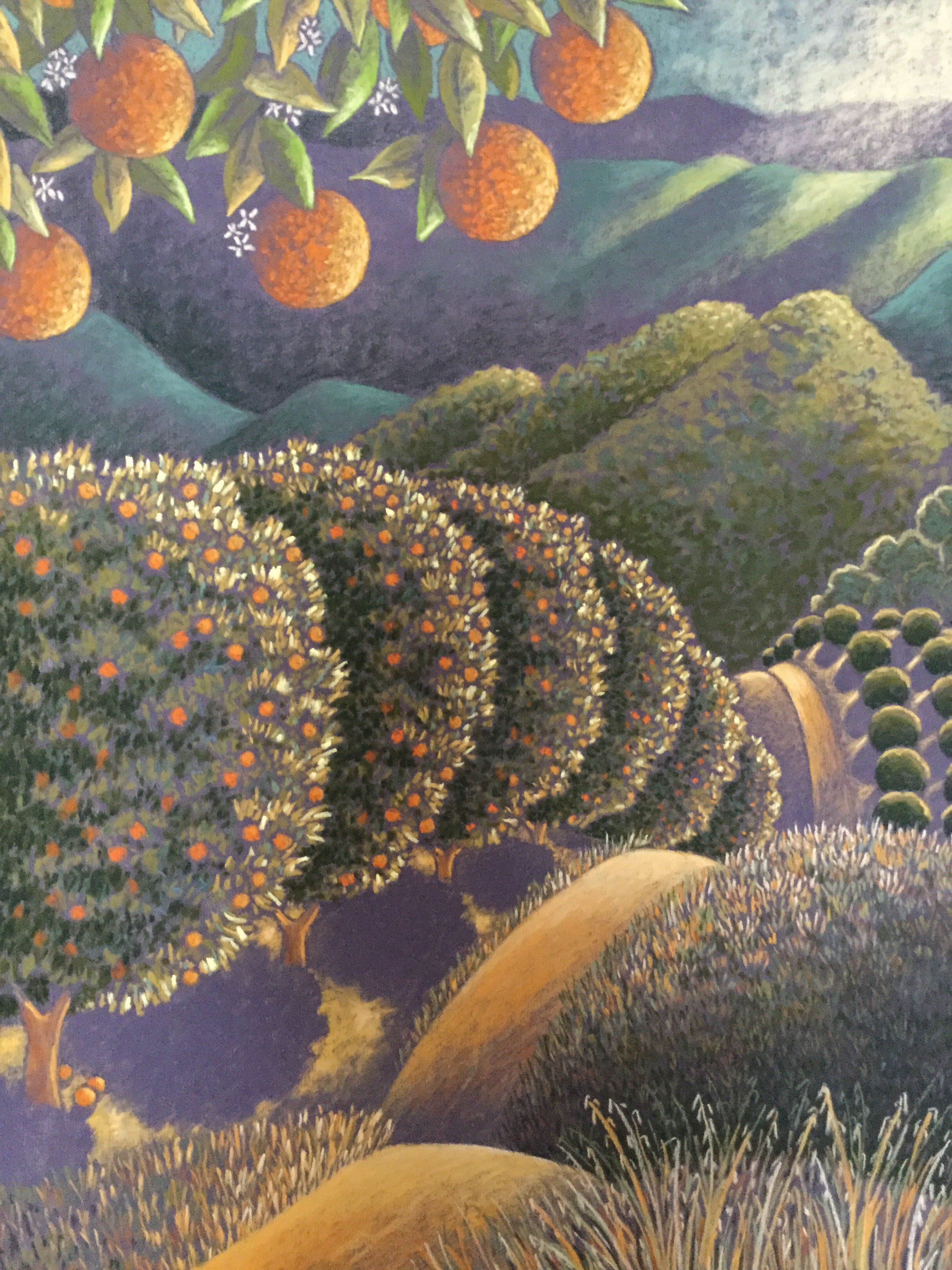 Orange View Dawn