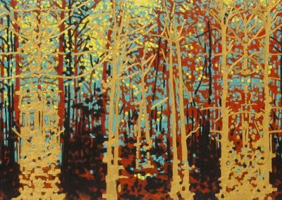 Richard Amend_Gold Trees