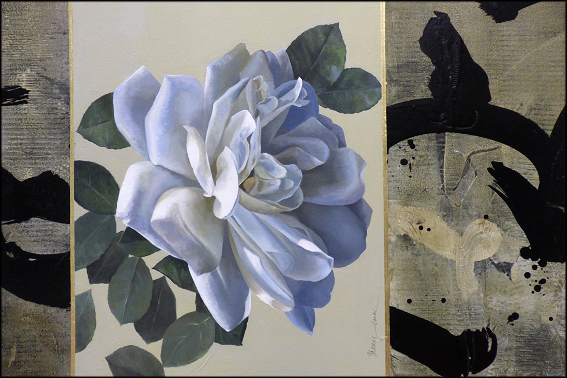 _Sumi Rose_ by Sherry Loehr