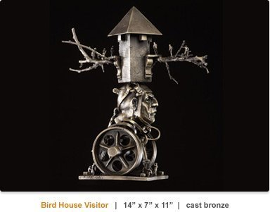 Theodore Gall_Bird House Visitor