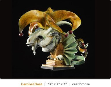Theodore Gall_Carnival Goat