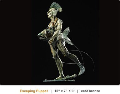 Theodore Gall_Escaping Puppet