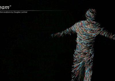 Stream interactive artwork by Douglas Lochner