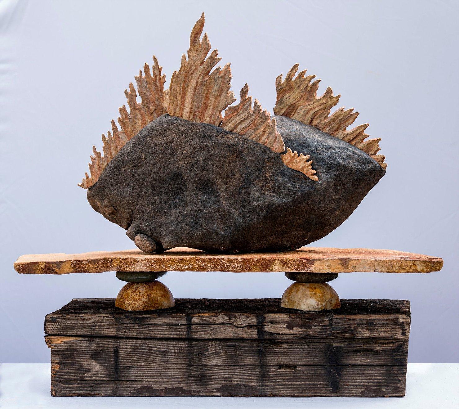 """Martha Moran """"Altar to the Fire Gods"""""""