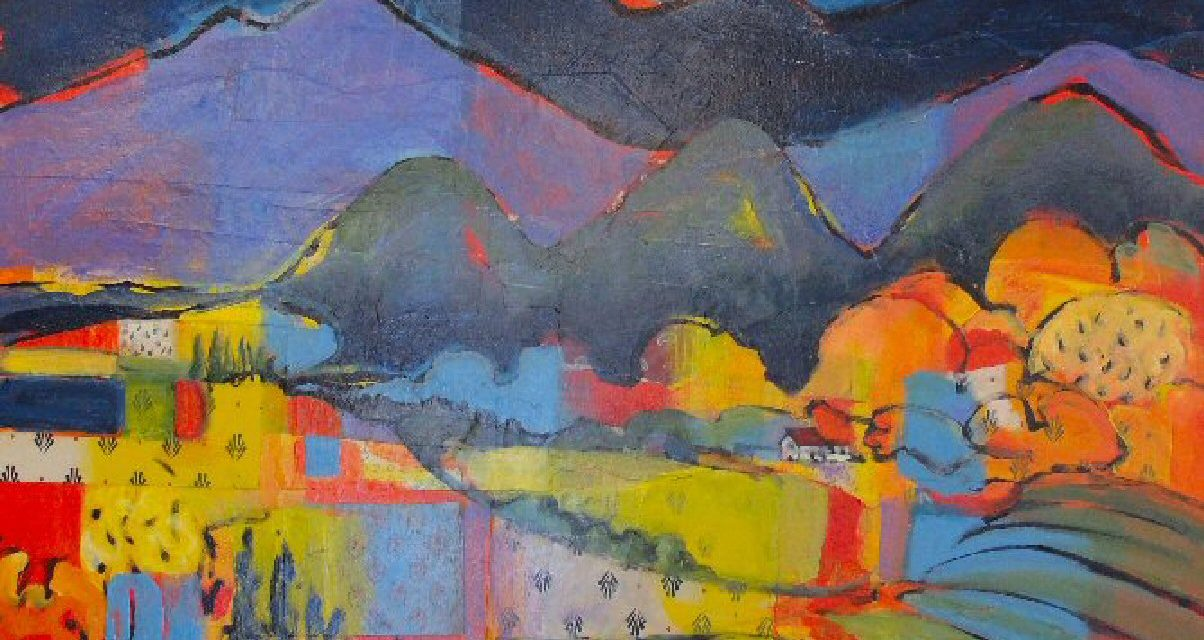 Gayel Childress art is proposed  for the upcoming Ojai Film Festival……