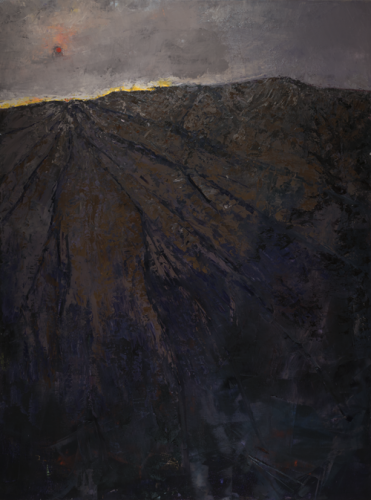 """Christine Beirne's """"Wounded Sun"""" In Competition Juried by William Wray"""