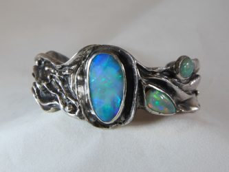 Jewelry and Sculpture at Patty McFall's