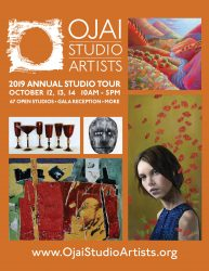 Annual Studio Tour Oct. 12 – 14, 2019