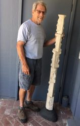 Second Saturday with Stone Sculptor Duane Dammeyer