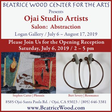 """OSA Salon """"Abstraction"""" at Beatrice Wood Center for The Arts"""