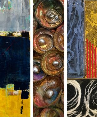New Show with 3 Abstract Painters from Ojai Studio Artists!