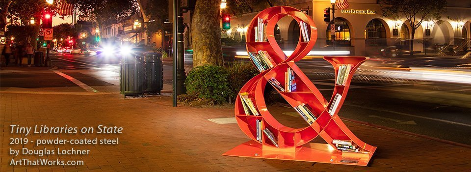 """""""Tiny Libraries on State"""" Public art opening"""