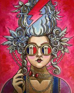 Amy-Lynn-Stevenson_The-Revoluntists, Acrylic on Canvas