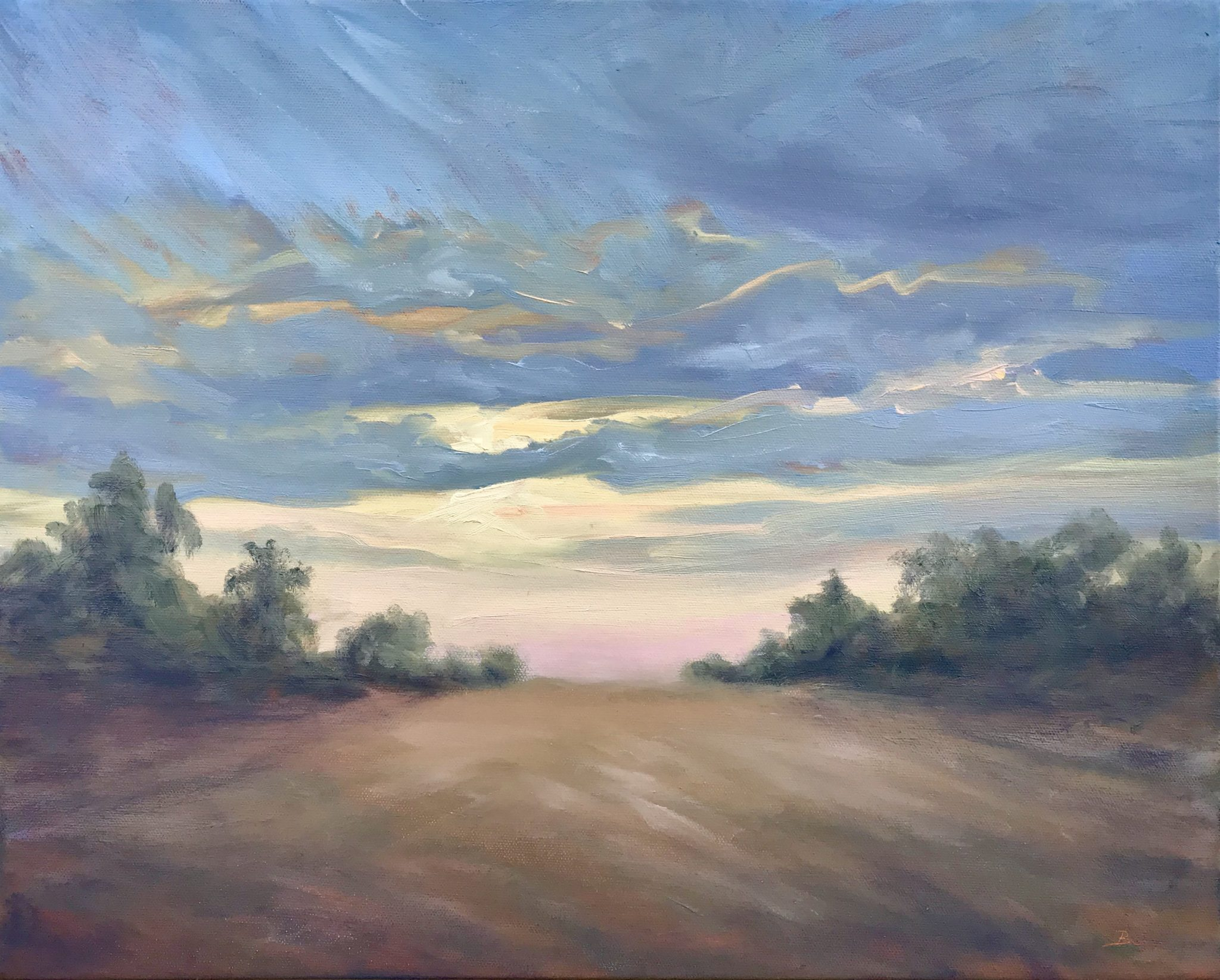 Grabin-Bruce_Morning Clouds , Oil-16x20