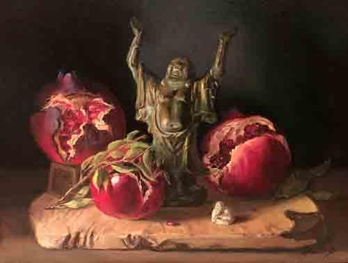 Ingrid-Boulting_Great Fullness, Oil on Canvas