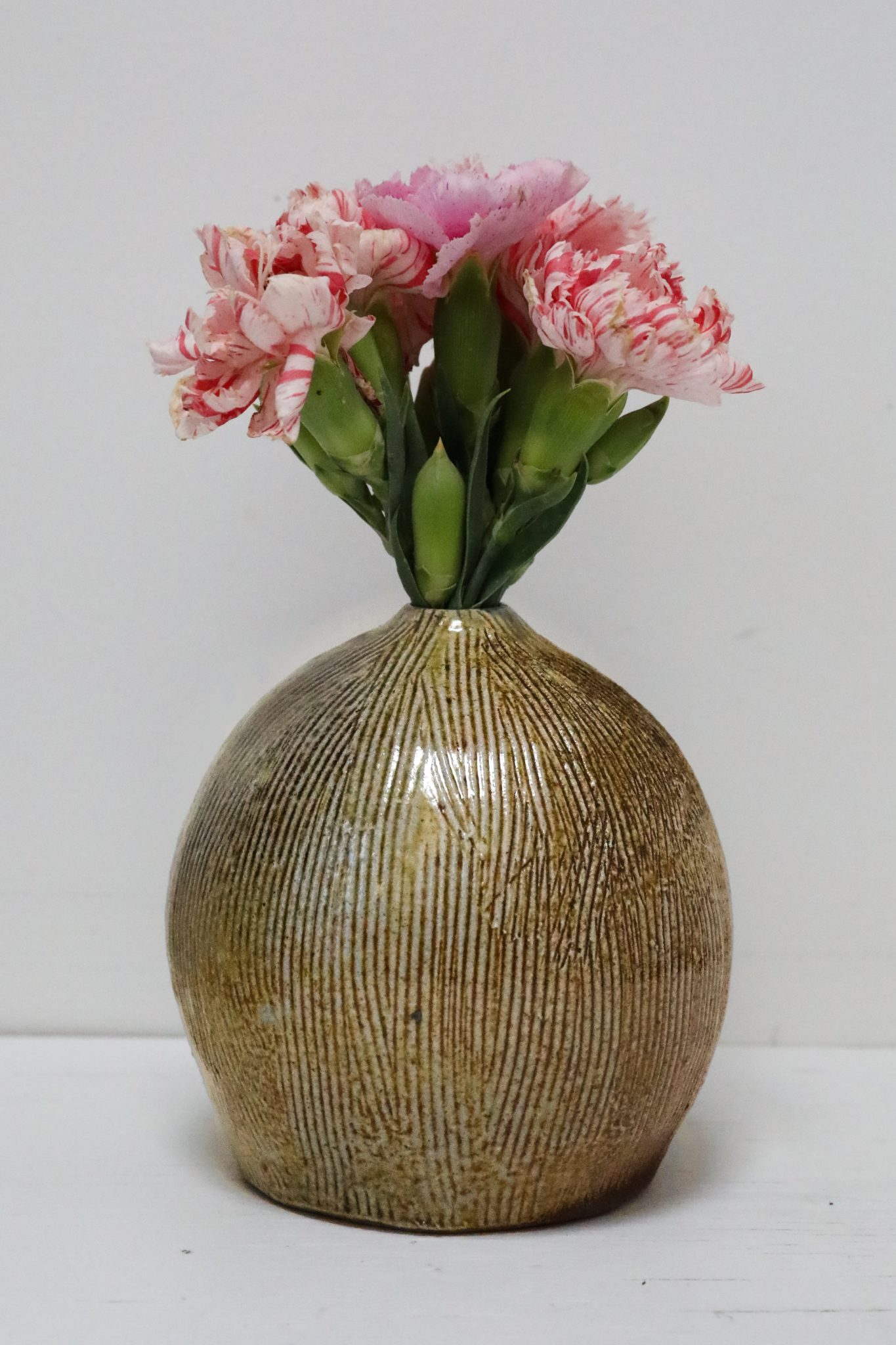 Wood-Fired Vase by Tea Wallmark
