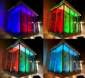 Carlos Grasso Light Show at Victoria Ave and Moon Dr.