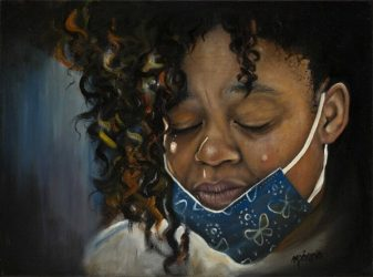 """""""Grief"""" has been accepted into The San Diego Museum of Art Artists Guild 2021 Online International Summer Exhibition"""