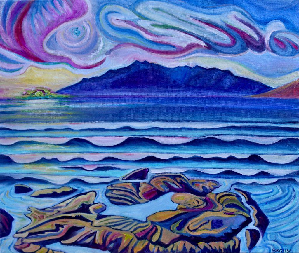 SKGUYJupiter Rising, Puako, Hawai'i