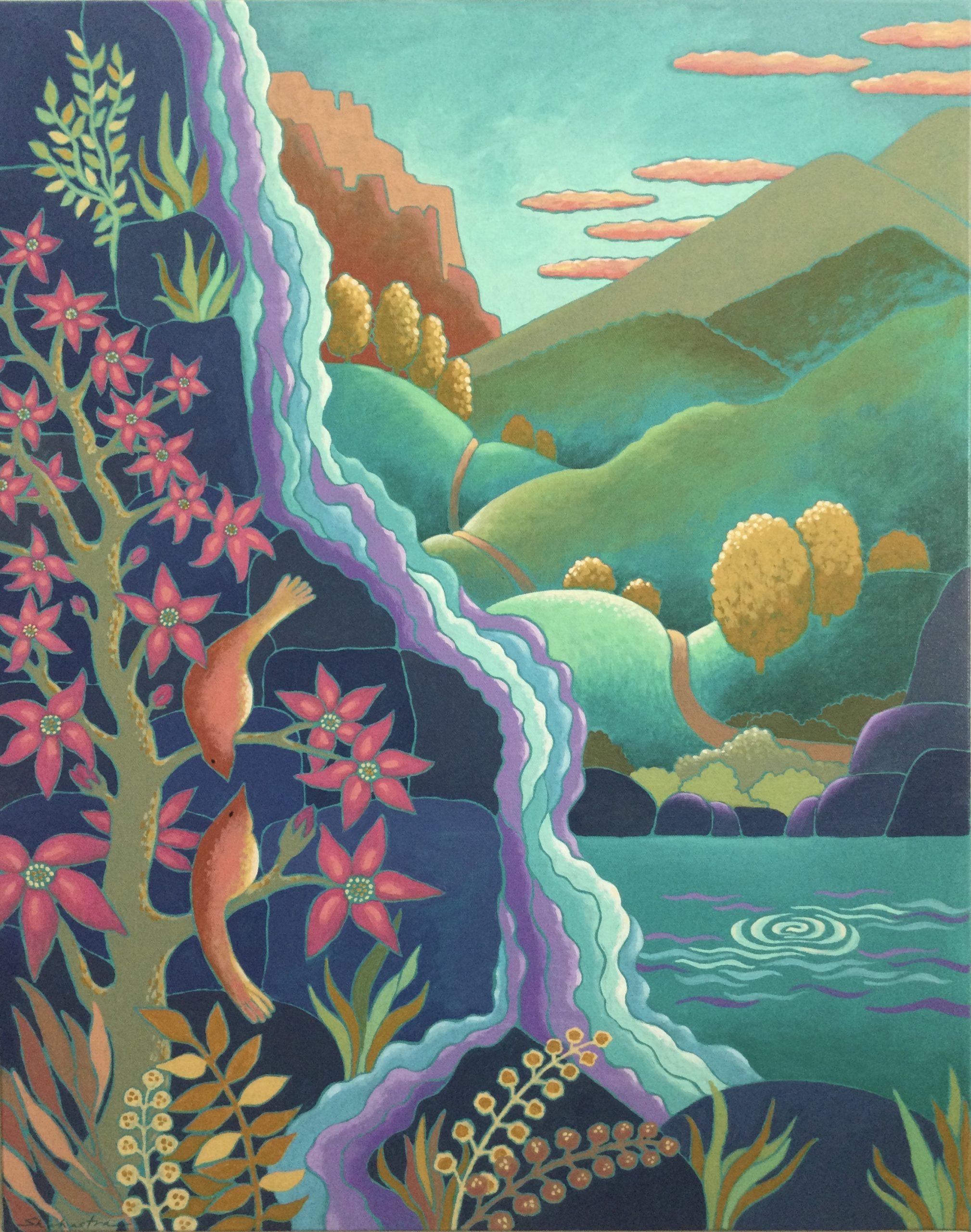 Shahastra Levi LOVE POEMS:Harmony acrylic on canvas